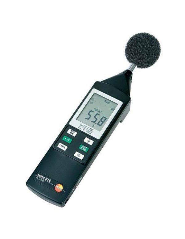 Увеличить Измеритель уровня шума Testo 816